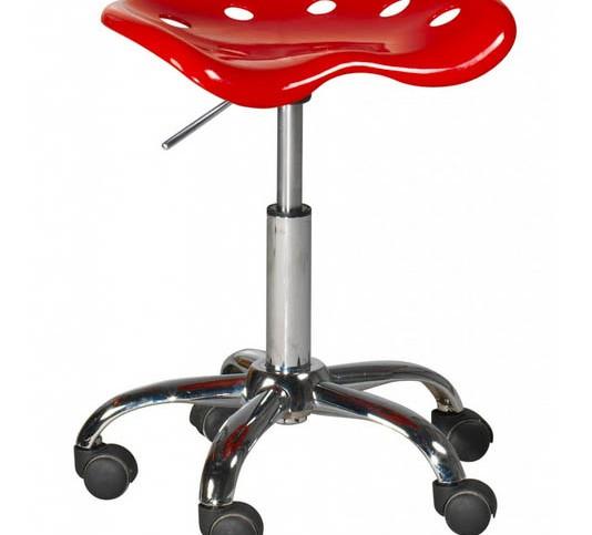 Mooviin tabouret design rouge