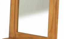 miroir en teck massif