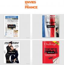 Lecture digitale pour Le Figaro et Challenges