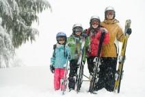séjour au ski en famille