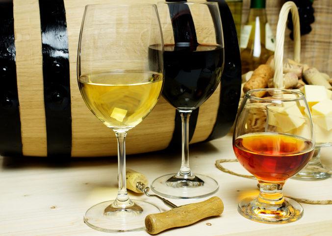 vin pour un cadeau de mariage