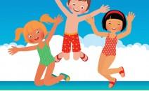 Odalys enfants à la plage
