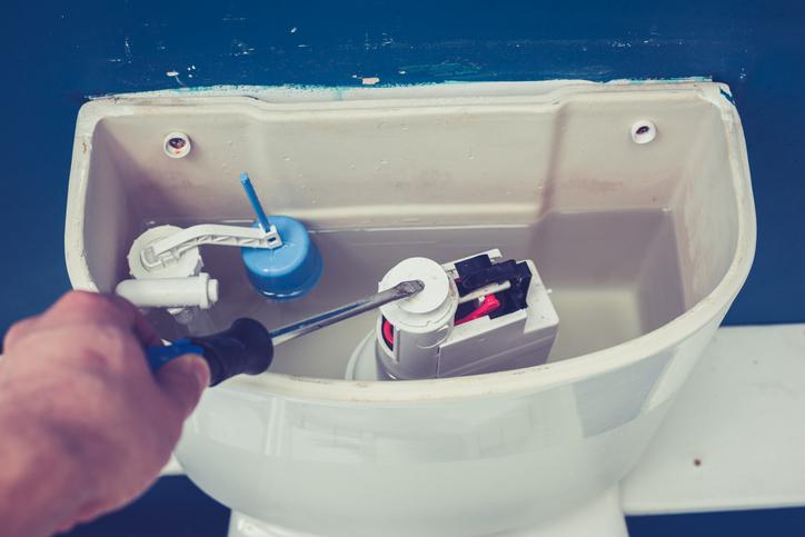 fuite de wc